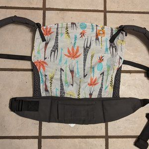 Tula Toddler carrier - like new - giraffe print